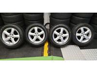 Suzuki Genuine 16 alloy wheels + 4 x tyres 205 60 16