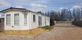 Luxury chalet in private gated yard to rent.