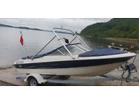 bayliner capri 185 bowrider 4.3 v6 mercruiser speedboat