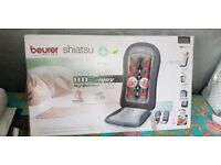 Beurer shiatsu MG206 back massage seat