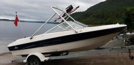 Bayliner capri 185 bowrider 4.3 mercruiser speedboat