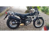 Suzuki 125cc LO VAN VAN (1 year MOT) Motorbike Low Mileage (4182) Great Condition