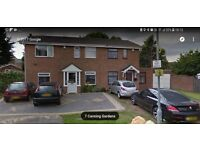 House to rent in quiet cul de sac off road parking for 3 cars