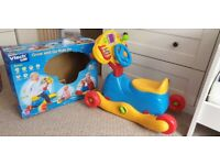 Vtech Grow and Go Ride On 6-36 Months