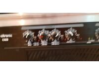 2400W AND 1700W POER AMPLIFIERS PLUS CROSSOVER