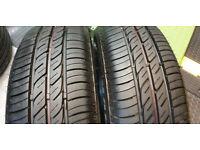 175 65 14 2 x tyres Firestone Multihawk 2