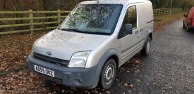 2006 FORD TRANSIT CONNECT SILVER LONG MOT