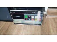 """LG 42"""" Smart WiFi Built In Full HD 1080p LED TV £140"""
