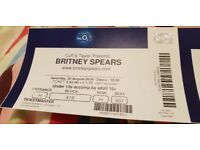 X2 Britney Spears tickets @ O2 Saturday 25th August. £100 pair