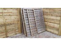 Quality Used Fence Panels