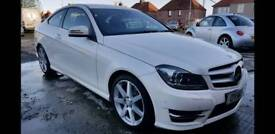 Mercedes C250 AMG Sport Premium Plus Coupe Auto.. 14 Plate