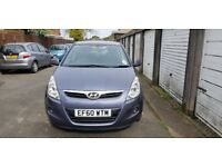 HYUNDAI I20 2011 DIESEL 10 ,MONTHS MOT WITH NO ADVISORIES FULL SERVICE HISTORY