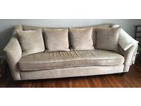 John Lewis 3 seater sofa