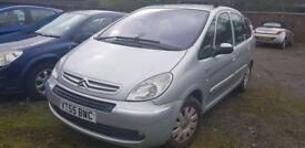 CITREON XSARA PICASSO 1.6 DIESEL ( LOW MILEAGE ) ( ANY OLD CAR PX WELCOME )