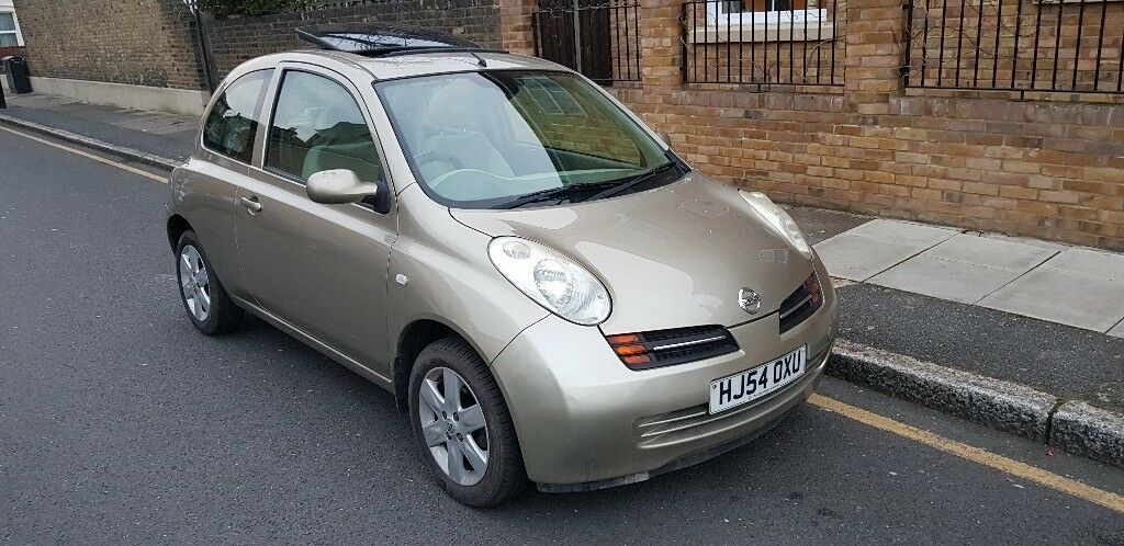 nissan micra 2004 auto automatic sun roof gold in east ham london gumtree. Black Bedroom Furniture Sets. Home Design Ideas