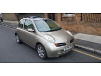 NISSAN MICRA 2004 AUTO AUTOMATIC SUN ROOF GOLD