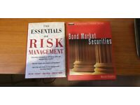 Respected Financial Books on Risk Management & Bond Market Securities