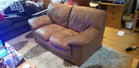 Leather 2 and 3 seater sofas. Excellent condition. Must see!