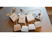 Leaded ADSL Micro Filter Broadband Microfilter Professional Splitter to Router