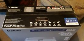 Canon MG 6851 printer/scanner/copier. New and Unopened.