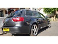 SEAT Exeo Sport CR TDI 170BHP Manual 6speed powerful family Estate 2keys FSH NEW INJECTORS £3750 ono