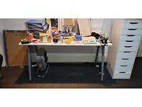 3x IKEA Office Desk 160x80cm (EXCELLENT CONDITION)