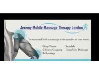 Mobile Massage £45 - 1 hour(40%OFF) -Watford, Borehamwood, Finchley, Radlett, Stanmore, Shenley
