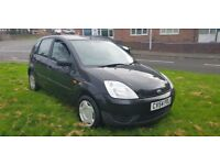 FORD FIESTA 1.2 BLACK ( ANY OLD CAR PX WELCOME ) SMOOTH ENGINE AND GEARBOX,