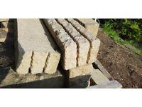 Assorted decorative garden bricks/blocks/paving