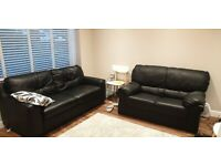 Leather sofas , used , great condition