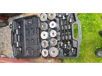 Car/van bush removal install kit