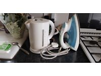 Kettle and iron for sale