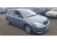 TOYOTA CORROLA 1,4 LOW MILES 13 SERVICE STAMPS ( ANY OLD CAR PX WELCOME )