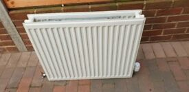 Double radiator 70cm wide 60cm tall