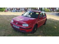 VW GOLF SDI DIESEL ENGINE, EXCELLENT DRIVE ( ANY OLD CAR PX WELCOME )