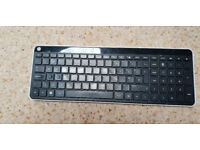 Dell monitor and HP keyboard for sale