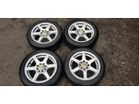 4 Alloy Wheels - 15 inch Team Dynamics 100+ Fusion 4x100 4x108