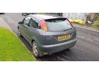 2004 ford focus grey 3 door only 91k