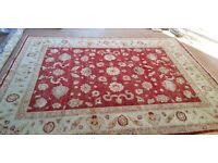 Sino-Persian Handknotted Wool Rug 11ftx8ft (327cmx254cm)