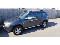 Very good condition Dacia Duster Laureate. One owner FSH and 2 year extended warranty.