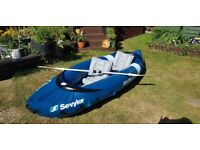 Sevylor Riviera Inflatable Kayak 1 or 2 Person **MUST LOOK **
