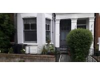 Lovely, large one bedroom ground floor flat in Victorian conversion with private garden.