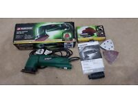 Parkside Delta Sander Immaculate complete with box accessories and instruction