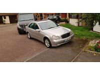 Mercedes C240 Automatic verry good car with Bosse