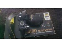 nikon d3100 with sigma lens 120/400mm