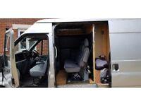 Transit VAN 140, T350, New MOT, 6 seats, 4 deadlocks, RWD, Recent tyres. A great reliable vehicle.