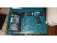 Makita 18v LXT Hammer Drill, Fast, Charger Case, New
