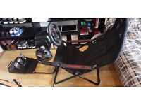 Logitech G29 (with shifter) - Playseat challenge seat PS4 + PC