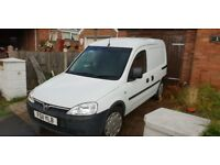 2011 vauxhall combo 1.3tdci. good runner. Small dent on the side.