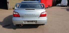 Subaru Impreza WRX Sti Bugeye Bug Eye High Level Boot Spoiler